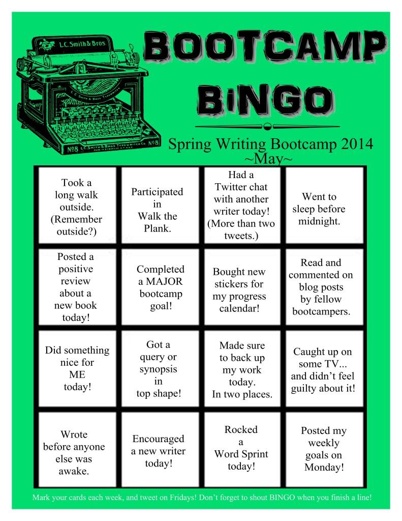 Bootcamp Bingo May