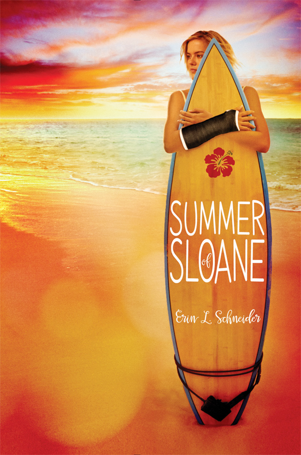 Summer of Sloane by Erin L. Schneider in paperback