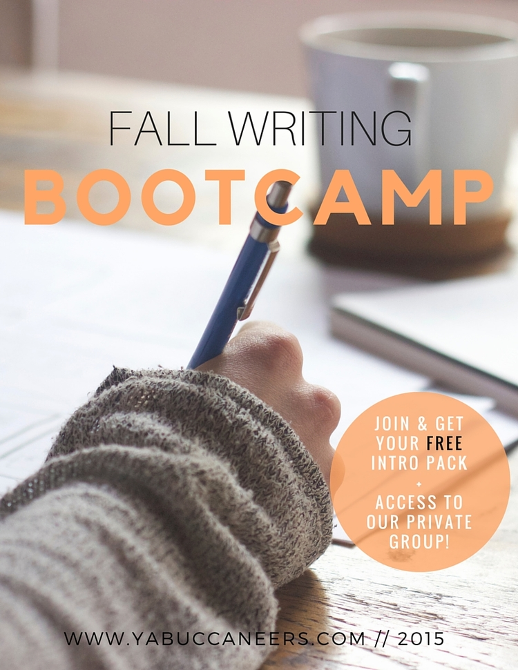 Join the YA Buccaneers for the Fall Writing Bootcamp!