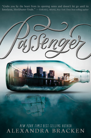 I'm reading PASSENGER by Alexandra Bracken.