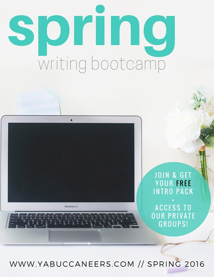 YA Buccaneers Spring Writing Bootcamp