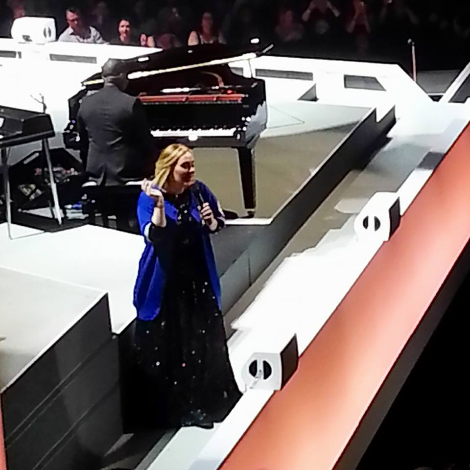 Adele in concert, Toronto, Oct. 6, 2016