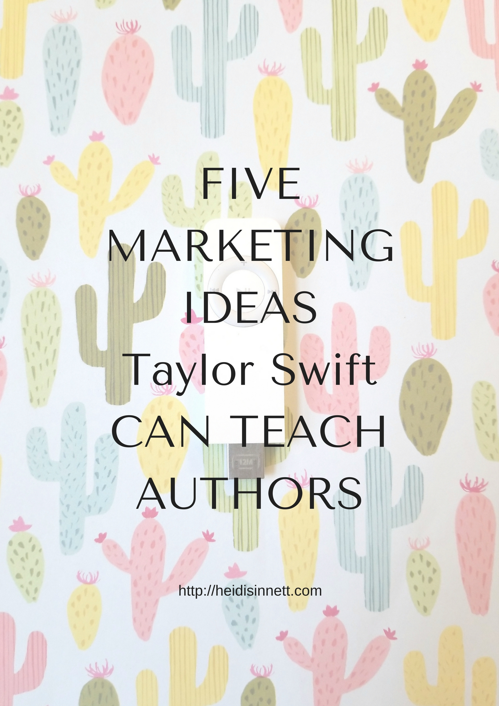 Taylor Swift Can Teach Authors how to promote